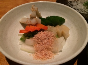 Izakaya Dish 2: Pickled Veggies